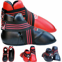 3X Sports Karate Boot Taekwondo Martial Arts Sparring Kick Boxing TAI CHI Foot