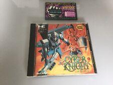 Cyber Knight PC ENGINE GT LT JP japon Boîte et manuel Good Cond