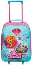 Paw Patrol Skye Chariot bagages cas Enfants Filles Enfants cabine valise à roulettes
