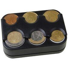 Euro Münzhalter Münzbox 6 Fächer selbstklebend HR 857