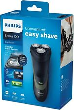 PHILIPS S1300/04 Mens Electric Rechargeable Rotary Shaver, CloseCut Blades  NEW