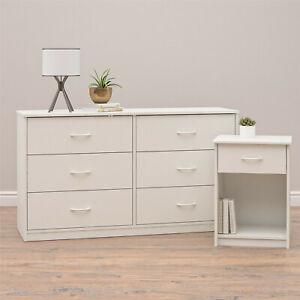 Mainstays DW01598 3 Drawer Dresser - White