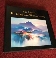 SIGNED Hardcover Book The Art Of H. Leung And Thomas Leung Artists Painters