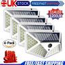 114LED Solar Power Light PIR Motion Sensor Security Outdoor Garden Wall Lamp UK!