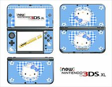 SKIN STICKER AUTOCOLLANT - NINTENDO NEW 3DS XL -  REF 79 KITTY
