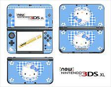SKIN STICKER AUTOCOLLANT - NINTENDO NEW 3DS XL -  REF 79 KITTY