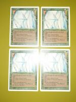 Wall of Ice x4 - Revised - Magic the Gathering MTG Playset 4x