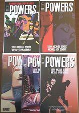 Powers #15 16 17 18 19  [of 1-37]  (Image 2000)  VF/NM    Brian Michael Bendis