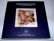 Restauro arte Restituzioni 2002 capolavori restaurati Mostra Vicenza 2002