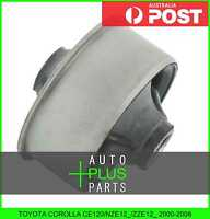 Fits TOYOTA COROLLA CE120/NZE12_/ZZE12_ - Rear Rubber Bush Front Arm Wishbone