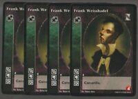 4 x Frank Weisshadel VTES CCG Mixed