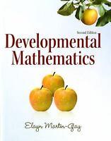 Developmental Mathematics Elayn Martin-Gay Edition 2nd 0321652746 NEW Book