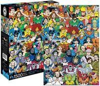 Dc Comics Caractères 1500 Pièce Puzzle 830mm x 570mm (NM)