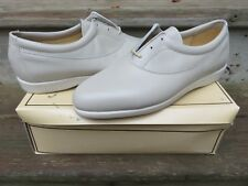 NEW Hanover Ultra Sport Dress Shoes Light Grey Size 10 M New Old Stock Leather