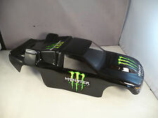 NEW BODY SHELL FOR TEAM ASSOCIATED RC10 T3 / RC10T TRUCK- GLOSS BLACK