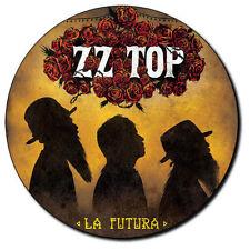 Parche imprimido, Iron on patch, /Textil sticker, Pegatina/ - ZZ Top, C