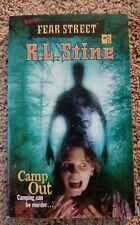 R.L. Stine new fear street series book #2 Camp Out vintage YA horror