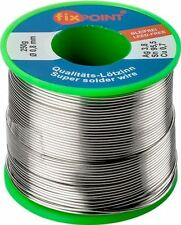 Solder lead-free ø 0.8mm 250g reel content 3.8% silver 0.7% copper 95.5% tin
