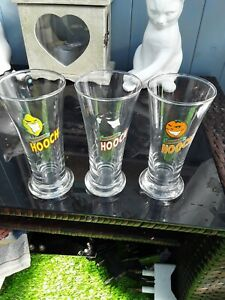 Collectable 1980s Hooper's Hooch Glasses Trio