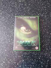 HULK (DVD-2003, 2 DISC SPECIAL EDITION) REGION 2. 5050582169522