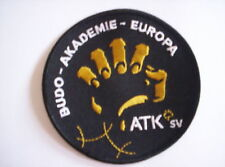 Aufnäher  Anti-Terror-Kampf  Budo Akademie Europa c a   9,5 cm