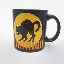 Waechtersbach Halloween Black Cat Full Moon Coffee Mug Cup 12 oz