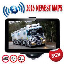 "7"" 8GB Truck Car GPS Navigation Lorry Coach Sat Nav Bluetooth AV-IN EU UK HGV"