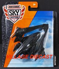 2018 Matchbox Sky Busters® (Batman V Superman) Batwing™ BLACK / MOC