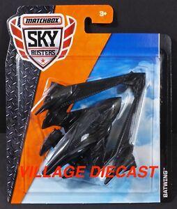 2018 Matchbox Sky Busters® (Batman V Superman) Batwing™ BLACK / MOC