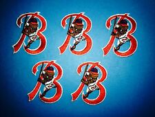 5 Lot Vintage Buffalo Bisons AAA Minor League Baseball Iron On Hat Patches