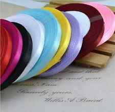 "New Grosgrain Ribbon Wedding Party Craft Satin DIY hair Bow  25 Yards 1/4""(6mm)"