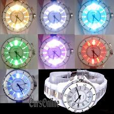 OROLOGIO Da Polso al Quarzo Ohsen Unisex 7 Colori LED Watch Uomo Donna Bambino