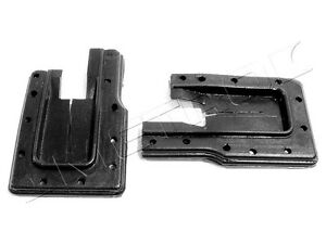 1962-1967 Chevrolet Chevy II & Nova 2 door hardtop U-Jam lock pillar seals, pair
