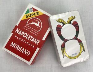 Modiano Napoletane Italian Playing Cards Briscola Scopa Carte Game Tresette New