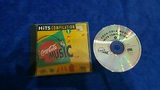 Coca Cola cocacola music hits compilation 1 press '93 France no barcode cd usato