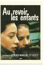 RARE / CARTE POSTALE POSTCARD - AU REVOIR LES ENFANTS : LOUIS MALLE / COMME NEUF