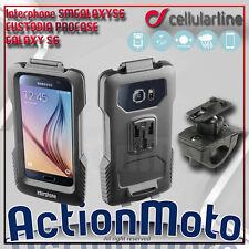 Supporto Sostegno Moto Cellular Line Pro Case per Samsung Galaxy S6