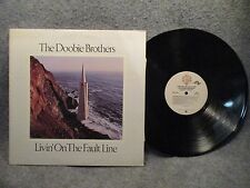 33 RPM LP Record The Doobie Brothers Livin On The Fault Line 1977 Warner BSK3045