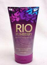 1 Bath Body Works Rio Rumberry Glowing Body Scrub Shower Wash Exfoliate Polish