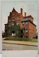 Schenectady New York Ellis Hospital c1905 Undivided Back Postcard B18