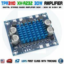 TPA3110 XH-A232 30W Digital Audio Stereo Amplifier Module Board Dual Channel DIY