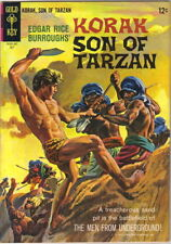 Korak Son of Tarzan Comic Book #9 Gold Key Comics 1965 FINE+