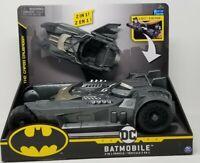 Batman Batmobile and Batboat 2-in-1 Transforming Vehicle, Ages 4+