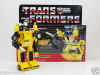 TRANSFORMERS G1 AUTOBOTS WARRIOR SUNSTREAKER BOX SET MISB