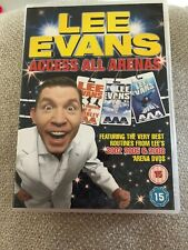 Lee Evans - Access All Arenas (DVD, 2009)