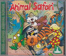 Animal Safari Sing A Long Songs CD Bear Necessities Kookaburra Animals Went 2 By