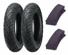 (2) Kenda 2.50-10 K329 Tires & Tubes Honda SB50 EliteE/NQ50 Spree & Yamaha Razz