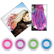 1 Set 4 colors Dye Hair Powdery Temporary Hair Chalk Powder Dye Pastels Salon