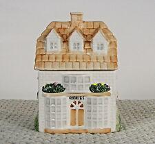 "VINTAGE ""LITTLE HOUSE"" CERAMIC COOKIE JAR 9.3/4x7x5"""