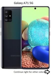 Samsung Galaxy A71 / A71 5G | 128GB | AT&T ONLY or GSM Unlocked Smart Cell Phone